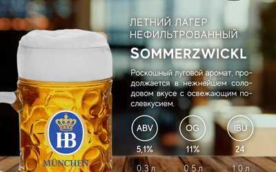 Впервые в России новый сорт разливного Немецкого пива!