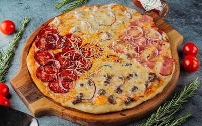 Идеальная мясная пицца