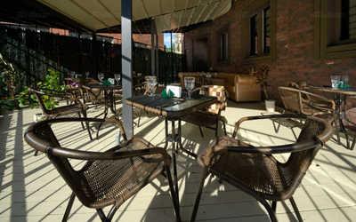 Тёплая осень на летней веранде ресторана «Форест»