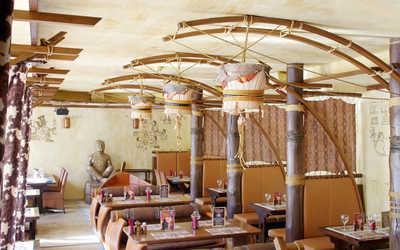 Банкетный зал ресторана Монтана (Montana saloon) на Измайловском проспекте