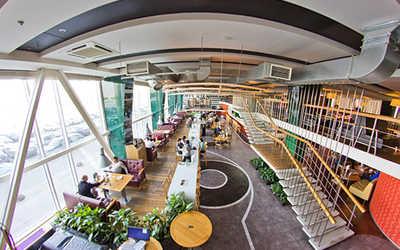 Банкетный зал пивного ресторана Набережная (НаBEERежная) на Аптекарской набережной