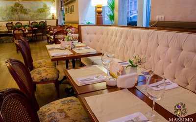 Банкетный зал ресторана Massimo (Массимо) на Большой Морской улице