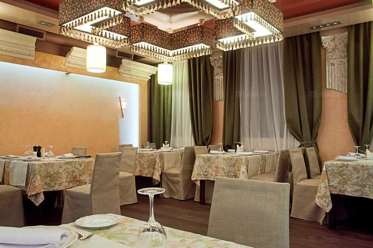 Меню ресторана Арагоста (Aragosta) на улице Достоевского