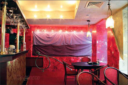 Меню кафе, ночного клуба Дали кафе (Dali Cafe) в Спасском переулке