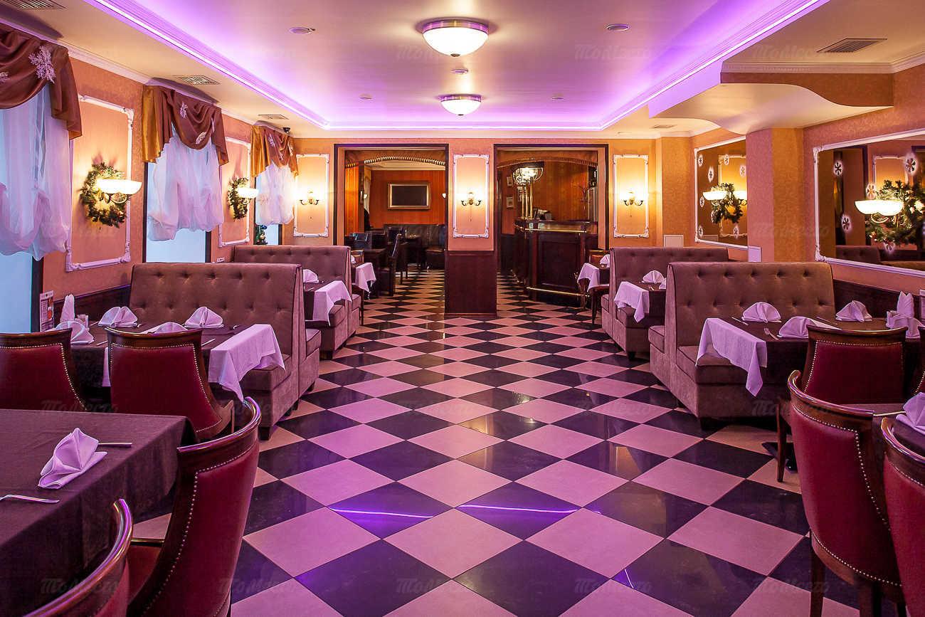 Меню ресторана Астерия (Asteria) на набережной реки Фонтанки