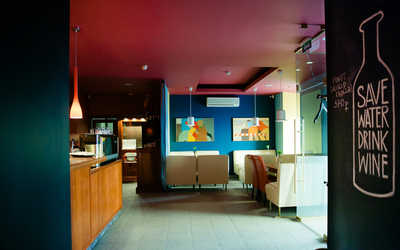 Банкетный зал бара Барабу (Baraboo) на Захарьевской улице