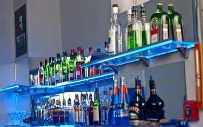 Банкетный зал бара, ресторана Авиабар (Aviabar) на улице Седовой