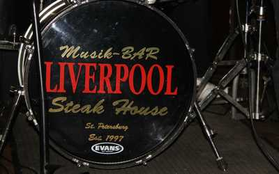 Банкетный зал бара Ливерпуль (Liverpool) на улице Маяковского