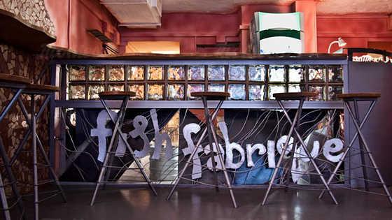 Меню бара, ночного клуба Fish Fabrique / Фиш Фабрик на Лиговском проспекте