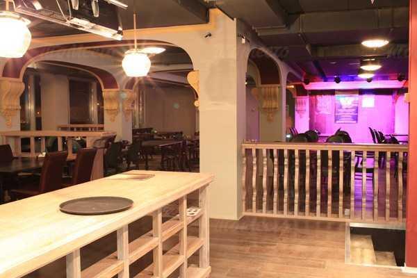Меню пивного ресторана Бирстайн (Beerstein) на Гаккелевской улице