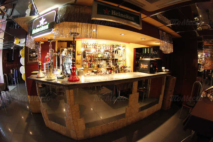 Меню бара, ночного клуба Нова (Nova) на Бухарестской улице