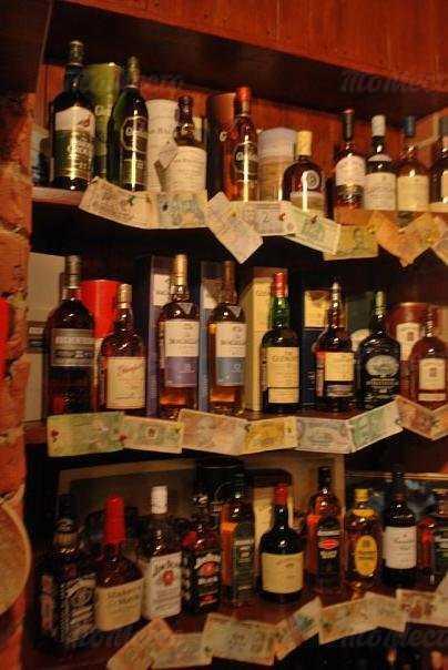 Меню бара Shelter pub & whisky-bar на Итальянской улице