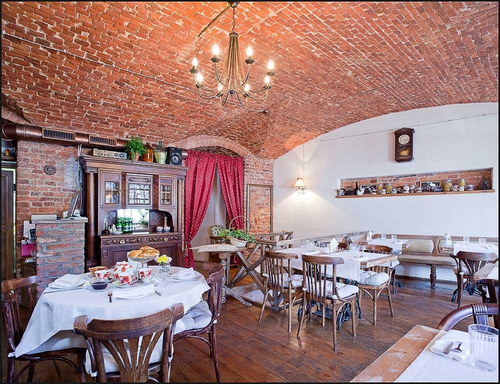 Меню ресторана Бульон на набережной реки Фонтанки