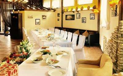 Банкетный зал ресторана Мускат на Камышовой улице