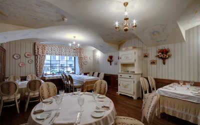 Банкетный зал ресторана Гоголь на Малой Морской улице