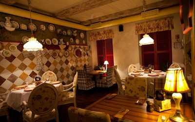 Банкетный зал ресторана Гости на Малой Морской улице