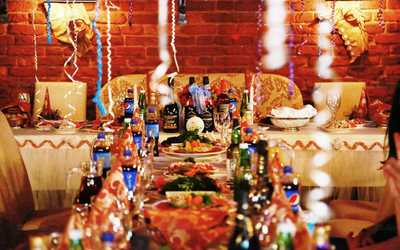 Банкетный зал кафе Изюм на Захарьевской улице