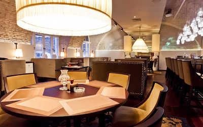 Банкетный зал ресторана Графин (Graf-in) на Конногвардейском бульваре