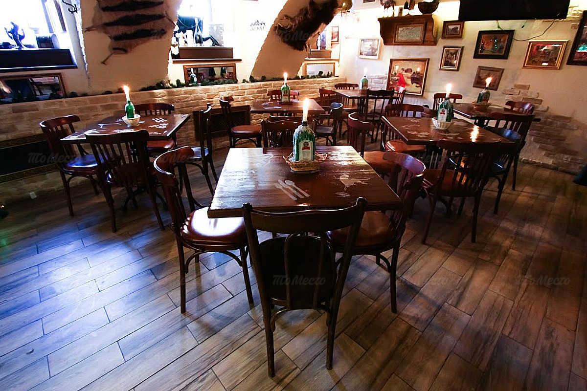 Меню бара, кафе Енот Бар (бывш. Milana bar) на Фурштатской улице
