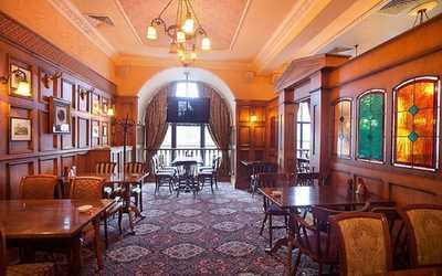 Банкетный зал пивного ресторана Вильям басс (William Bass) на Лиговском проспекте фото 2