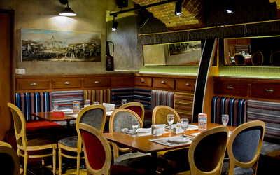 Банкетный зал ресторана Сулико в переулке Сергея Тюленина
