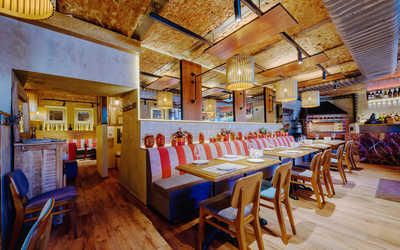Банкетный зал кафе Сулико на Каменноостровском проспекте фото 1