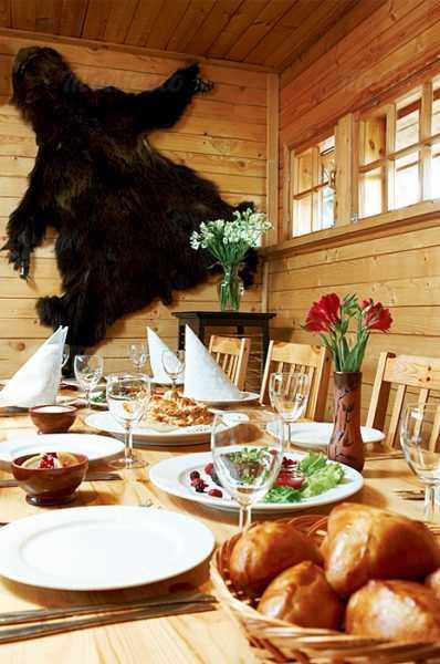 Меню ресторана Подворье на Фильтровском шоссе