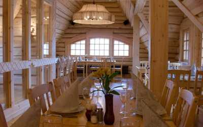 Банкетный зал ресторана Подворье на Фильтровском шоссе