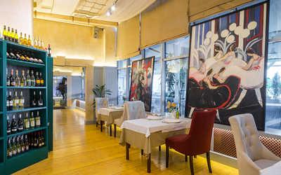 Банкетный зал ресторана Порто Мальтезе (Porto Maltese) на Большом проспекте Васильевского острова