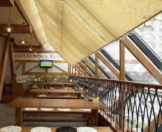 Меню пивного ресторана Бавария (Гаштет) на Комендантском проспекте