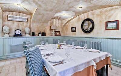 Банкетный зал ресторана Порто Мальтезе (Porto Maltese) на Невском проспекте