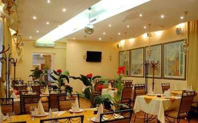 Банкетный зал ресторана Бальзак на улице Маяковского