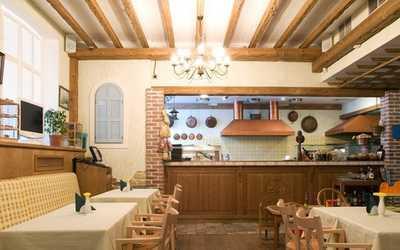Банкетный зал ресторана Виа Дарженто (Via D`argento) на Серебристом бульваре