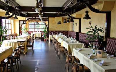 Банкетный зал ресторана Гольфстрим на Приморском шоссе фото 2