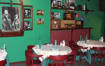 Банкетный зал ресторана Чаплин клуб на улице Чайковского