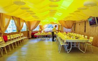 Банкетный зал ресторана Квадрат на улице Доблести