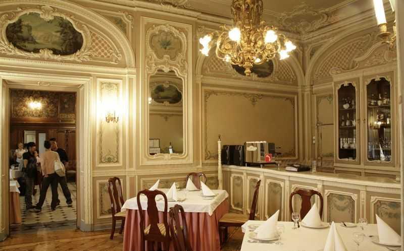 Меню ресторана Особняк Половцева на Большой Морской улице