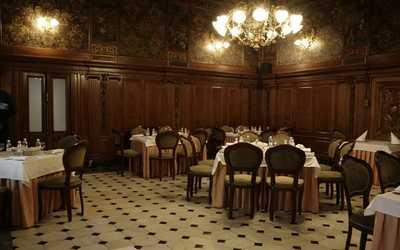 Банкетный зал ресторана Особняк Половцева на Большой Морской улице