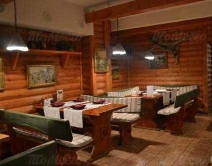 Меню ресторана Охотничья изба на Лермонтовском проспекте