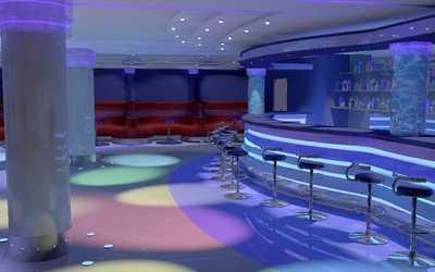Банкетный зал кафе, ночного клуба Атлантис на Разводной улице