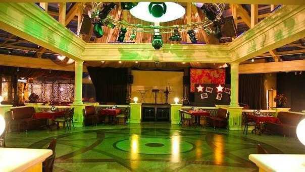 Меню ночного клуба, ресторана Винтаж (Vintage) в 8-й