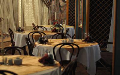 Банкетный зал ресторана Старая деревня на улице Савушкина