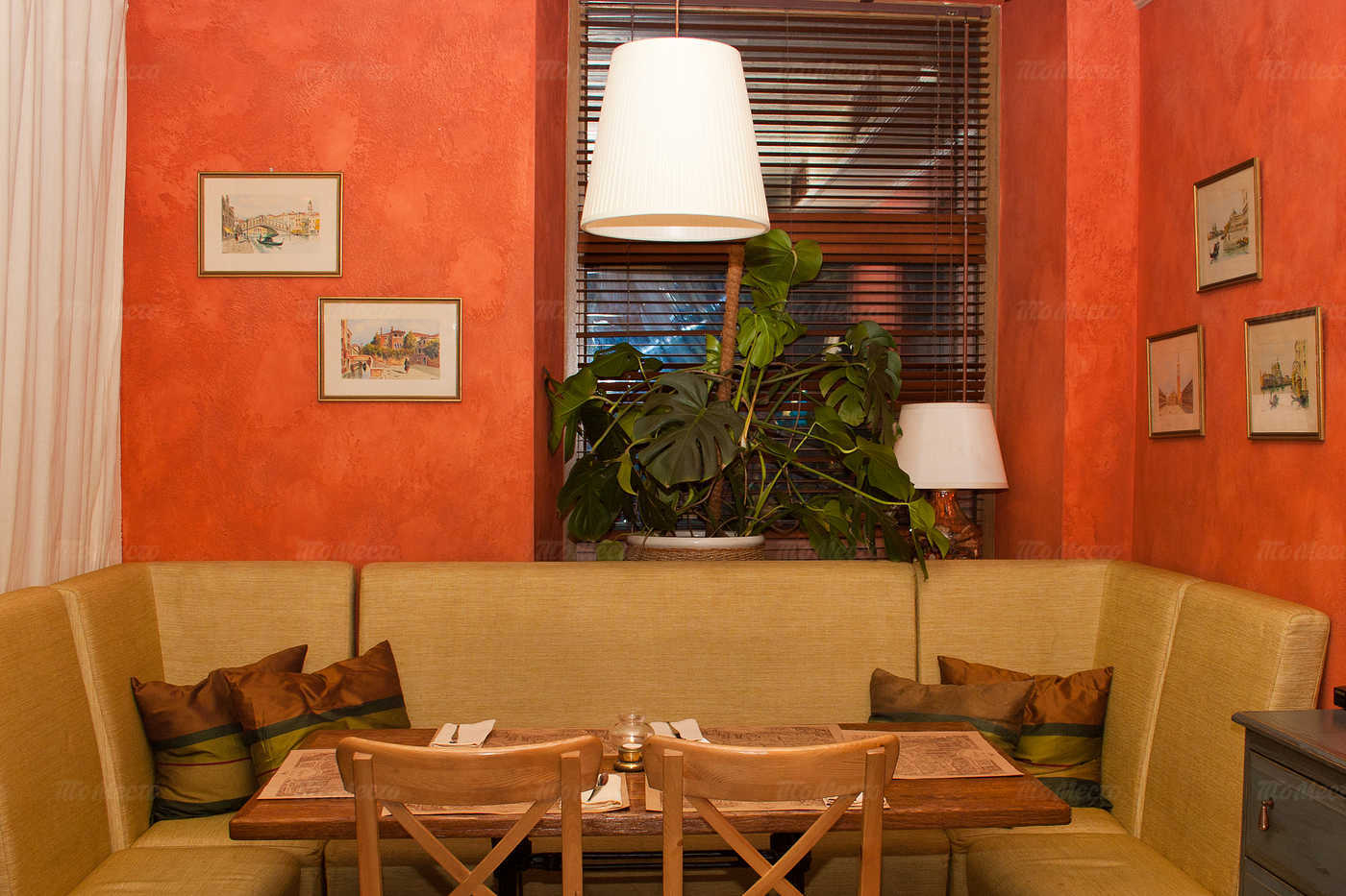 Меню ресторана Траттория Стефано (Trattoria Stefano) на Малой Морской улице