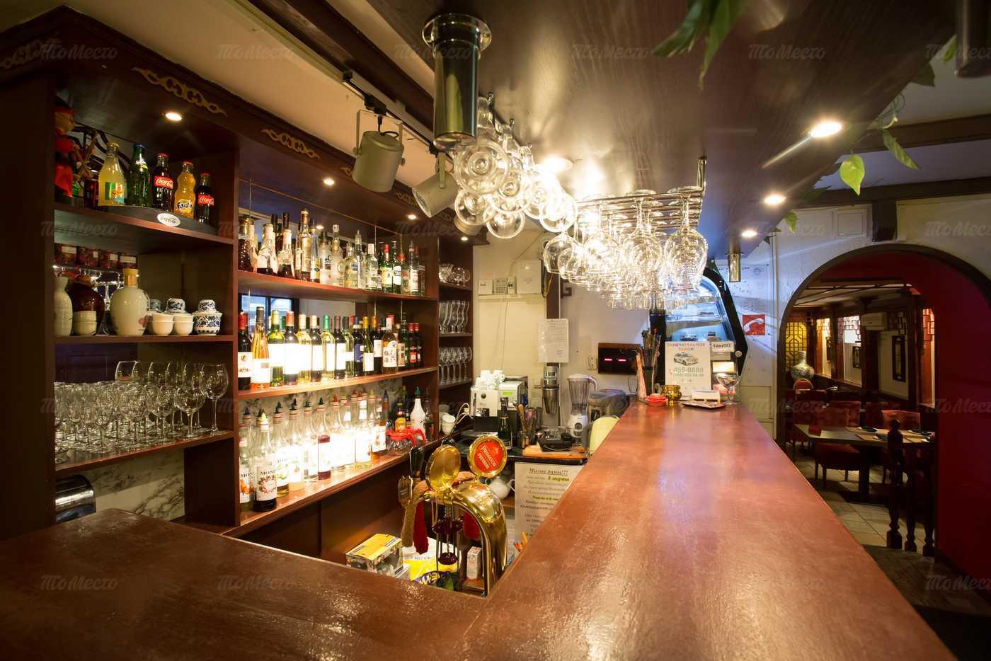 Меню ресторана Феникс на Константиновской улице