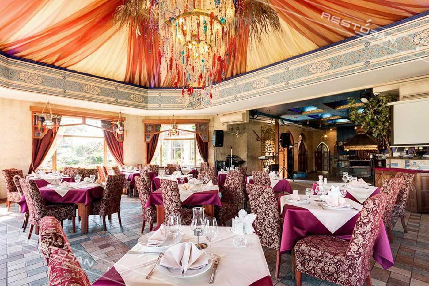 Меню ресторана Чинар на проспекте Луначарского