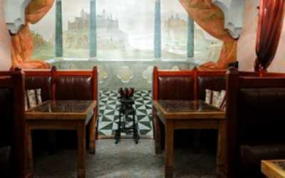 Банкетный зал ресторана Эскалибур на улице Сикейроса