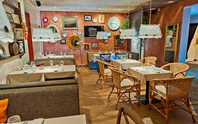 Банкетный зал бара, ресторана Side (Сайд) в переулке Талалихина