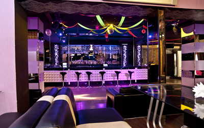 Банкетный зал ночного клуба, ресторана Шампань (Champagne) на Петергофском шоссе