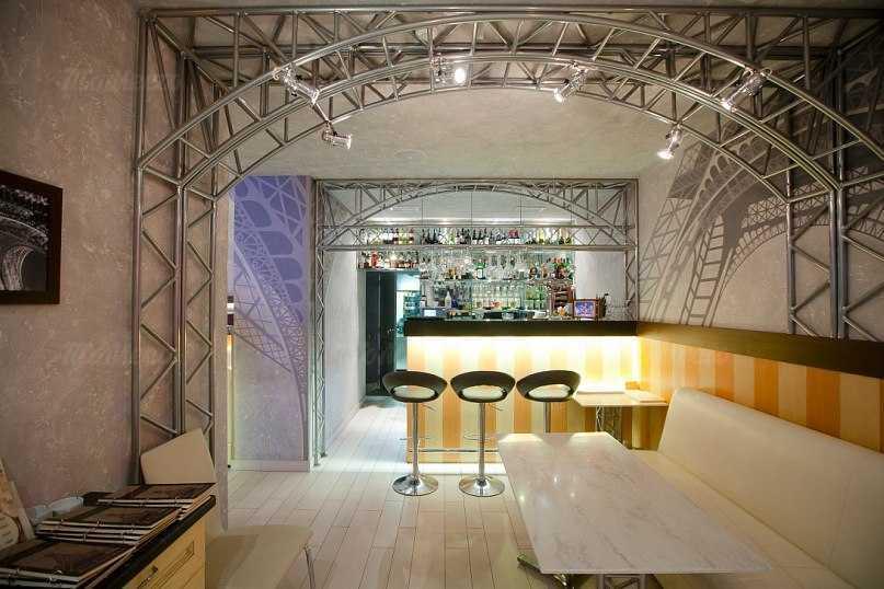Меню бара, ресторана Шарден (Charden) на Адмиралтейском проспекте