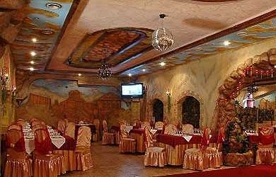 Меню ресторана Долина на бульваре Красных Зорь